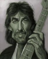 George Harrison by jonesmac2006