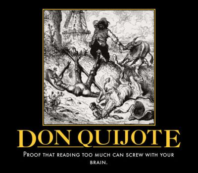 Don Quijote by paxtofettel