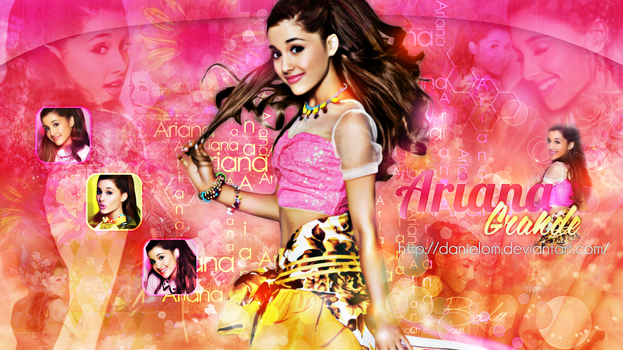 ~Wallpaper.ArianaGrande.|PS|By:Danielom by Danielom