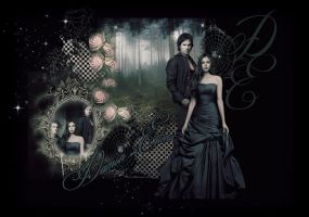 DAMON AND ELENA by VaL-DeViAnT