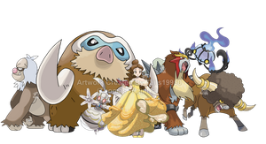 Belle - Pokemon Team