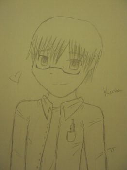 The Game - Kenta sketch by Tabby-chan15