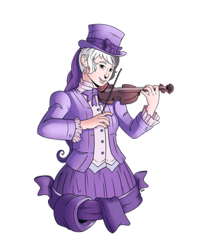 Commission - Violin by Raph13th