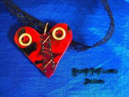 Fix my heart necklace by RoseOfTheFlames