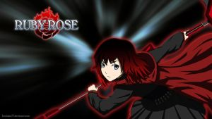 RWBY - Ruby Rose Mystic Arte by IceNinjaX77