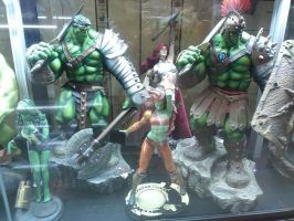 Hulk figures by thereanimatedunknown