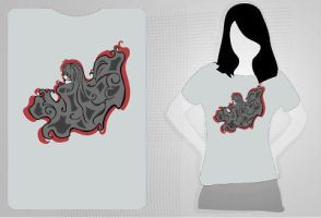 Hair and Flow T-Shirt by reshad80