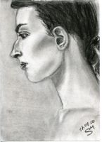 Portrait charcoal by Docali