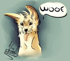 Fwuffeh Puppeh by TheWolfMadness