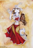Dancer With Bones by mcah