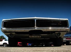 silver '69 charger II by AmericanMuscle