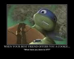 When your best friend offers you a cookie.... by alittlegeekish