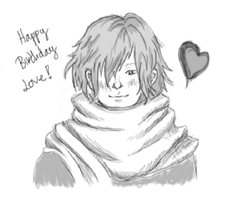 Happy Birthday sketch by metaphon
