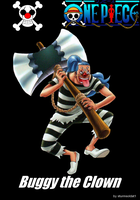 Buggy the Clown (Impel Down) by sturmsoldat1