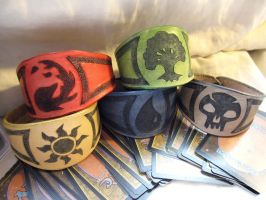 Magic the Gathering Bracelets by TheScreamingNorth