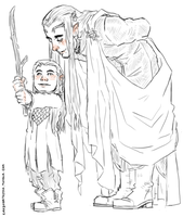 the Hobbit : Thranduilion by LadyNorthstar