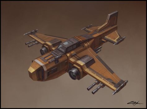 Airplane concept by Zoriy