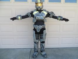 Halo armor project (suit front) by KevlarKatana