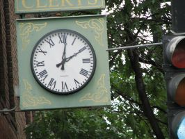 Clock 01 by LithiumStock