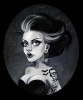 Bride of Frankenstein by NiaFarrell