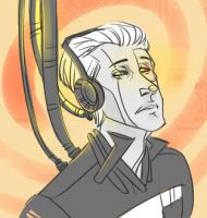 strange look of Father GLaDOS by atropomorph