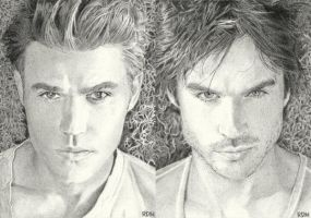 Salvatore Brothers by rajafdama