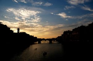 Firenze Sunset by turqchE