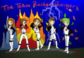 The Team Rocket Avengers by teamrocketavenger