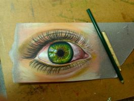 Green Eye by JRSchmidt