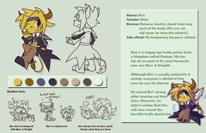 Kier character profile by PhuiJL