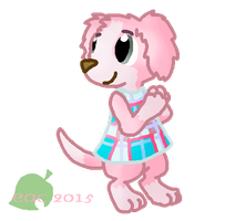 ACNL-Cookie by rosa-pegasus