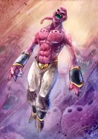Majin Buu by Dragolisco