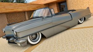 1956 Cadillac Series 62 Convertible by SamCurry