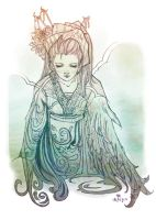 Lady of the Air by ilmenhin