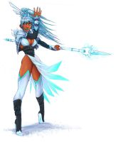 Sorceress of frost by ShakSaag