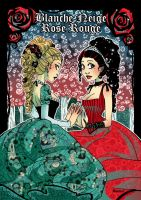 Blanche Neige et Rose Rouge by Moemai