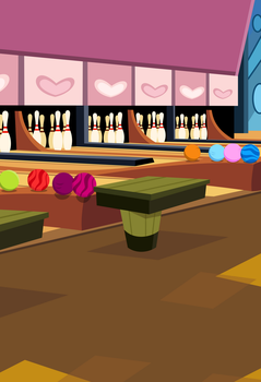 MLP Resource: Bgr 004 (Bowling alley) by ZuTheSkunk