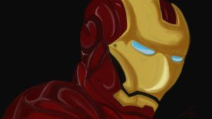 Iron Man SpeedPaint by Lelandthegreat