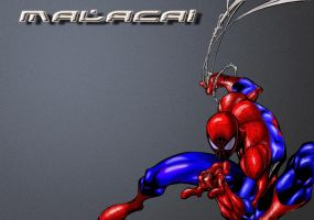 Spidey Desktop by Art-Of-Malacai-Brown