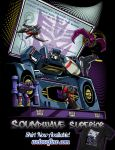 DJ Soundwave by ninjaink