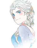 Elsa by kimbolie12