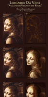 DaVinci WIPS of the Angel from Virgin in the Rocks by charfade