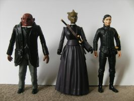 Custom Doctor Who Figures by Alvin171
