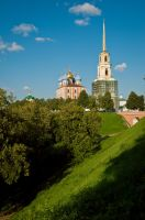 Day 8. Ryazan Kremlin by Anna-Belash