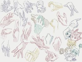 Hand Reference (YGO Style) by foreverfornever740