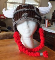 Loom Knitted Viking Hat by ScarlettRoyale