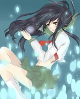 Kagome- Falling Down The Rabbit Hole by Betsiwetsi