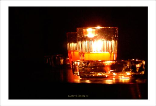 Candels and Ashtrays by gustavoibanez