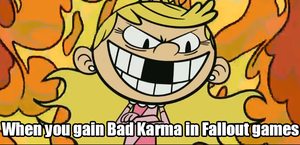 Fallout Karma by alienhominid2000