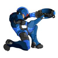 Mega Man X by tetso